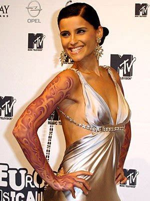 Nelly Furtado Fergie Issues by Nelly Tattoos Pictures