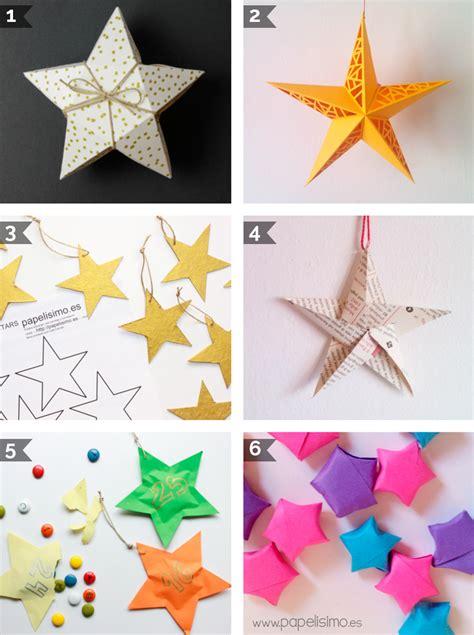 estrellas f 225 ciles para decorar el 225 rbol de navidad