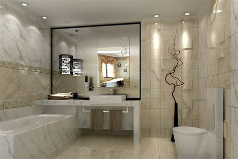 modern bathroom design ideas 3d