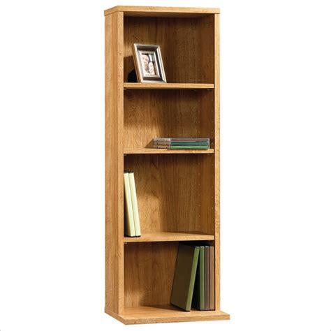 Multimedia Shelf by Beginnings Multimedia Storage Tower In Highland Oak Finish