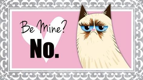 grumpy cat valentines day s day cards of the grumpy cat barnorama