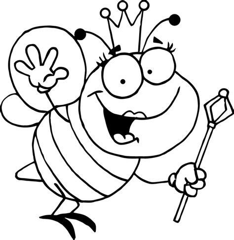 dibujo de iman para colorear y pintar dibujos de abejas para colorear y pintar
