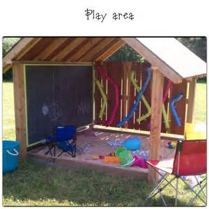 play area outdoors backyard ideas toys