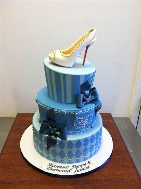 Denim and Diamonds Cake   denim diamond birthday cake