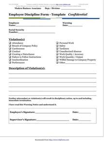 performance write up template 46 effective employee write up forms disciplinary