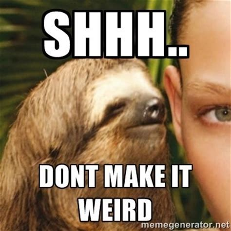 Sloth Meme Whisper - 14 sloths making sure you have a bad day