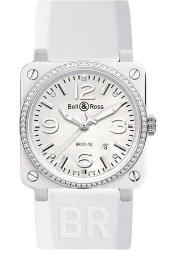 Bell Ross Simple White bell ross br 03 92 automatic white ceramic watches