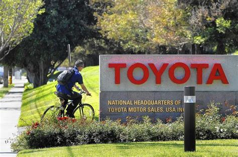Toyota Moving To Plano 3 000 Toyota To Move To From Torrance La Times