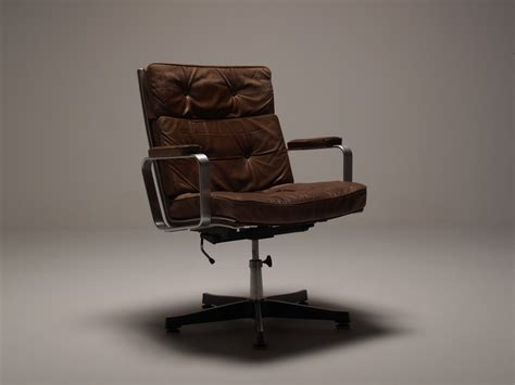 scandinavian leather office chairs scandinavian vintage office swivel chair in brilliantly