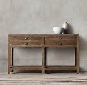 Restoration Hardware Console Table Printmaker S Console