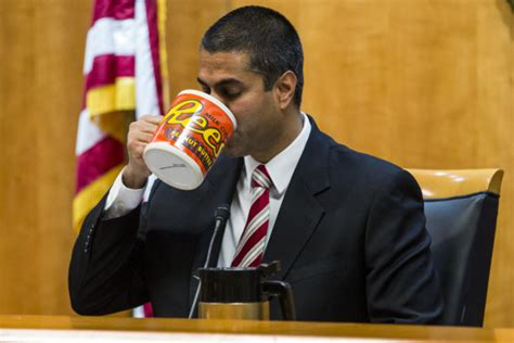 ajit pai big mug fcc s ajit pai revealed as total buffoon after making