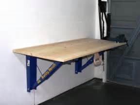 Fold Out Table From Wall Beautiful Folding Garage Workbench 3 Folding Garage