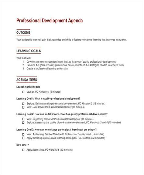 33 agenda template designs free premium templates