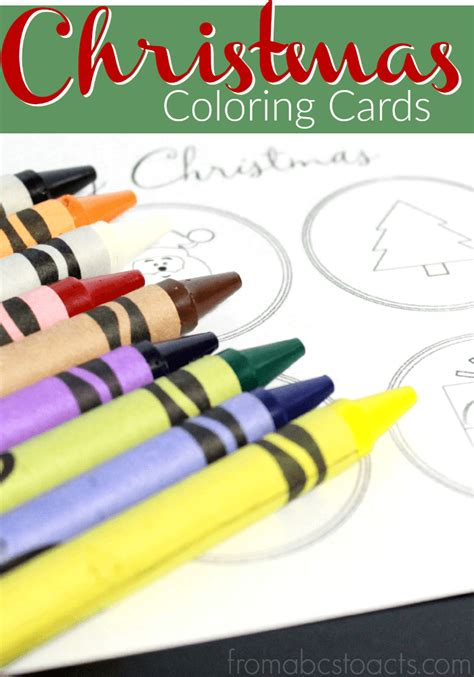 make and send cards color your own cards from abcs to acts