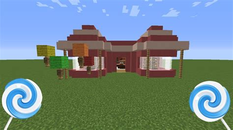 how to build a shop minecraft how to make a candy shop youtube