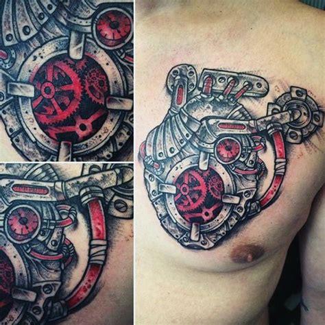biomechanical tattoo fixers 75 steunk tattoo designs for men masculine machinery