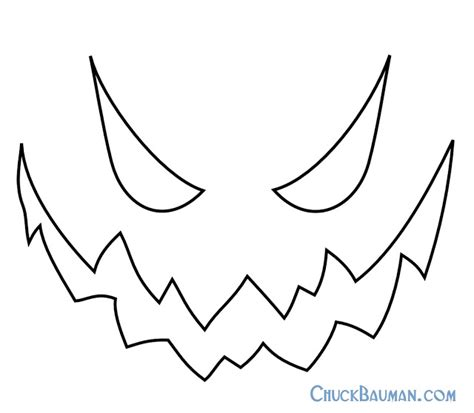 pumpkin king template free printable skellington pumpkin carving stencil