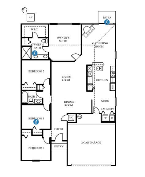 Dr Horton Monterey Floor Plan Dr Horton Floorplans