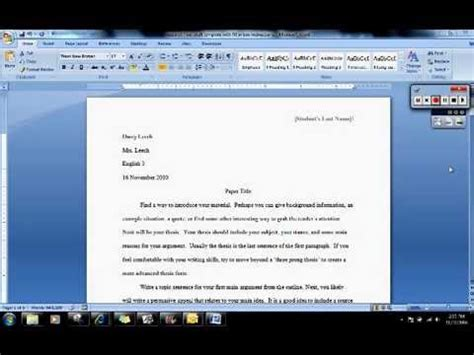 can you start a research paper with a quote what should be in my research paper introduction