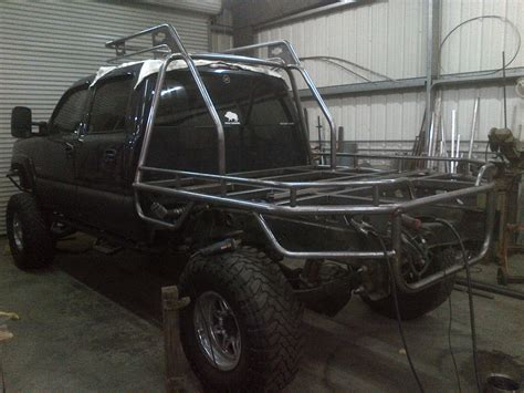 flat bed frame chevy flat bed chase rack headache rack jb fabrication and welding