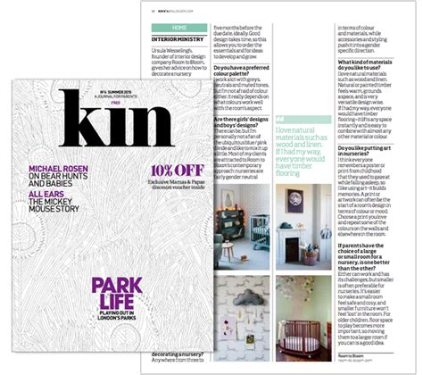 design magazine kin nursery kids room interior design blog childrens
