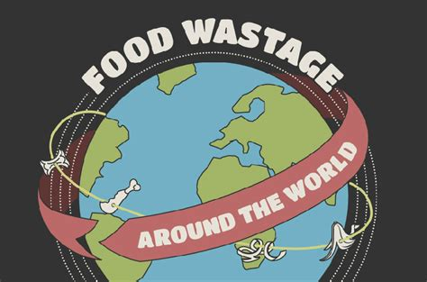 what is the in the world food wastage around the world infographic arbtech