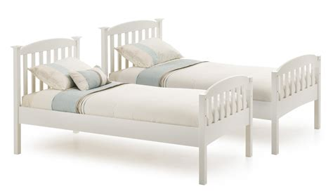 single white wooden headboard wood twin bed frame with headboard bed furniture decoration