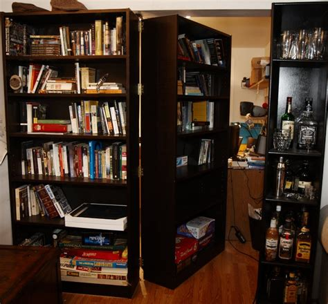 secret office diy secret passage adds mystery to your home gizmodo