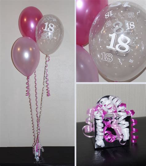 Decoration Of Birthday Party At Home by 18th Birthday Balloons Diy Party Decoration Kit Clusters