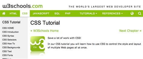 tutorial html php css css tutorial