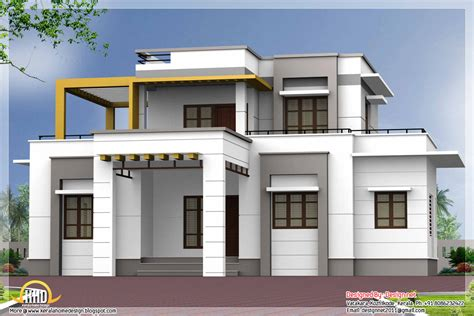 Home Design Roof Plans | flat roof house plans designs small house plans flat roof