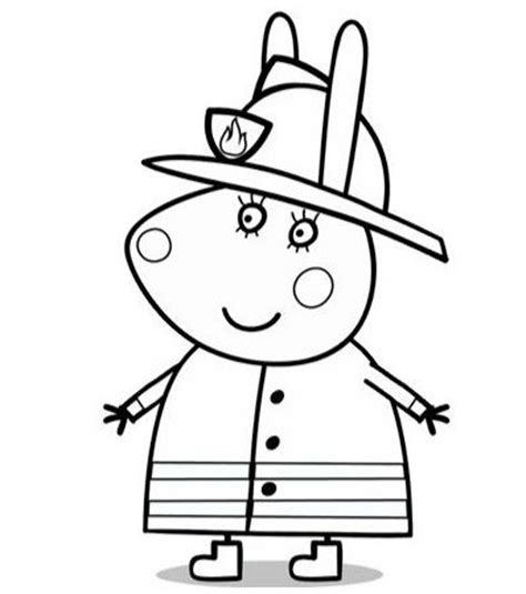 peppa pig dibujos para colorear dibujos de peppa pig para pintar
