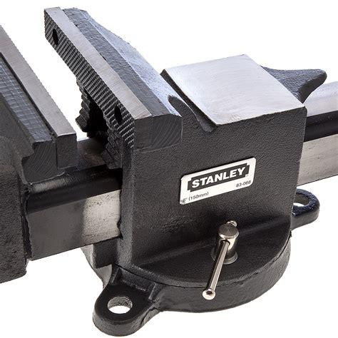 stanley bench vice stanley 1 83 068 heavy duty engineers bench vice 6 inch