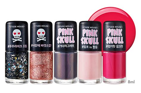 Etude House Pink Skull Rd304 Original etude house pink skull new collection madokeki makeup