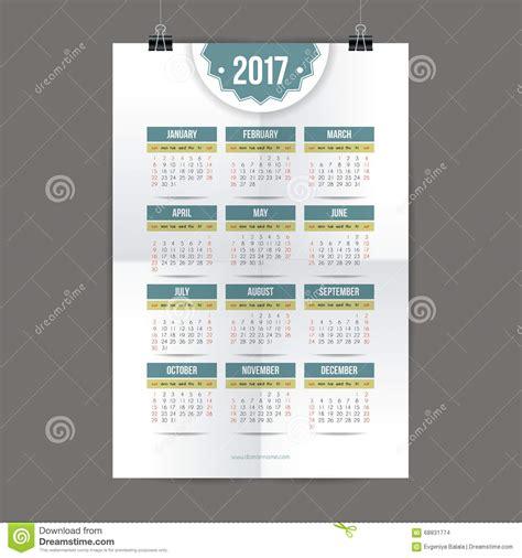 design calendar system design for calendar 2017 english or american system