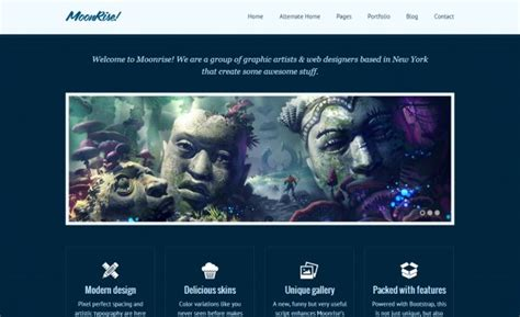 bootstrap themes ember 50 bootstrap themes for responsive websites