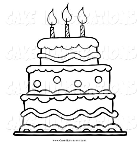 layer cake coloring pages layer cake clipart black and white clipartxtras