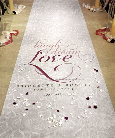 Personalized Wedding Aisle Runner Cheap by Best 25 Wedding Aisle Runners Ideas On Aisle