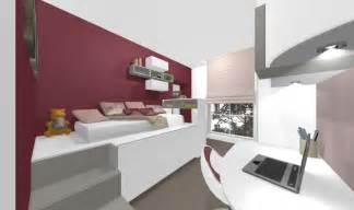 realisation d une chambre enfant avec lit mezzanine