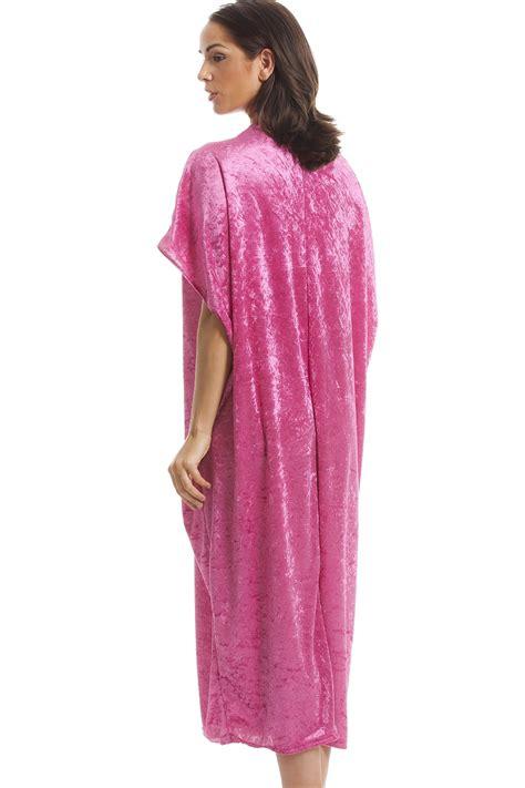 pink luxury luxury velour pink kaftan