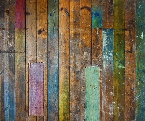 2018 digital painted colorful wood panel background baby newborn colorful old wooden floor or wall stock photo colourbox
