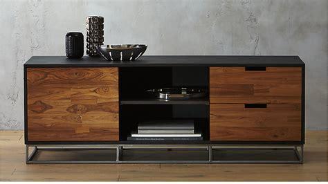 media credenza furniture congo modern media credenza cb2