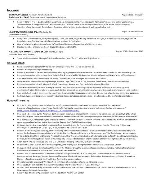 dartmouth resume resume ideas