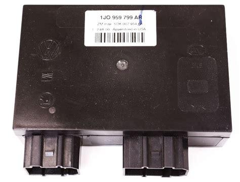 comfort control inc comfort control module unit computer 2001 01 vw beetle