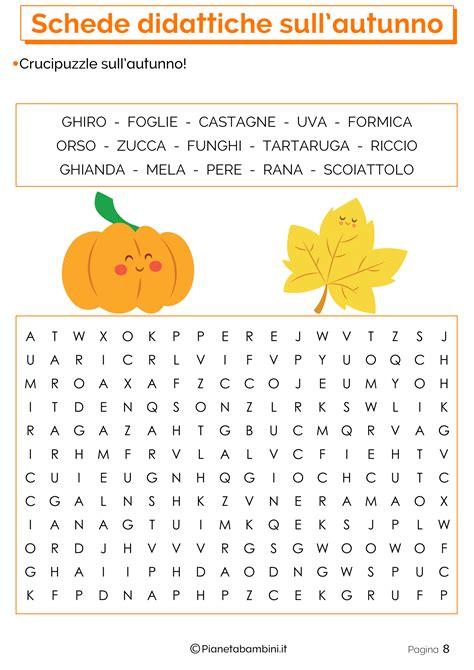 testo sull autunno scuola primaria schede didattiche sull autunno per la scuola primaria