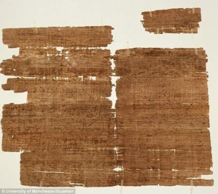 proof jesus was married found on ancient papyrus that 1500 year old christian relic provides amazing evidence of