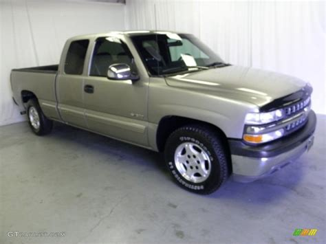 Black And Gold Ls by 2001 Sunset Gold Metallic Chevrolet Silverado 1500 Ls