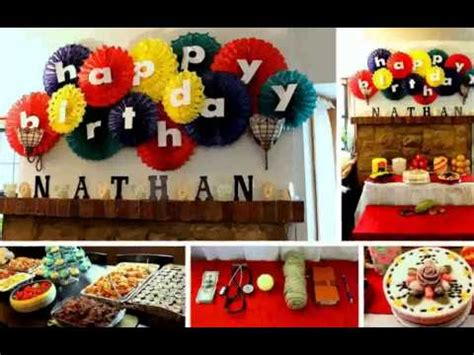 birthday decoration ideas for husband at home birthday decoration ideas at home youtube