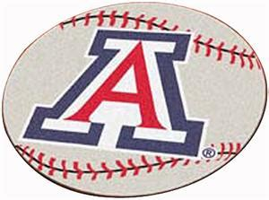university of arizona fan gear fan mats university of arizona baseball mat fan gear