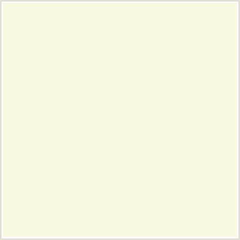 f7f9e0 hex color rgb 247 249 224 coconut cream yellow green